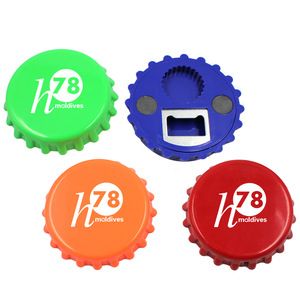 Novelty Beer Cap Shape Bottle Opener Fridge Magnets