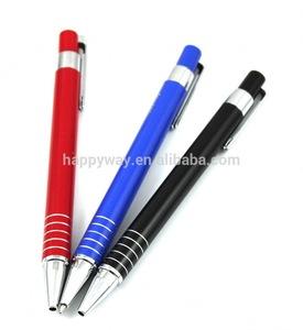 Metal branded stylus new design ball point pen