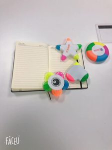 Mini Multi Color Highlighter Marker Pen