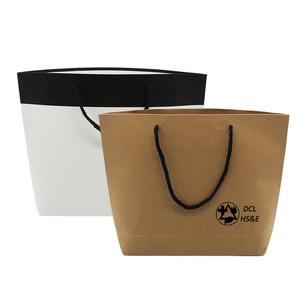 Custom Brown Paper Bag With Logo