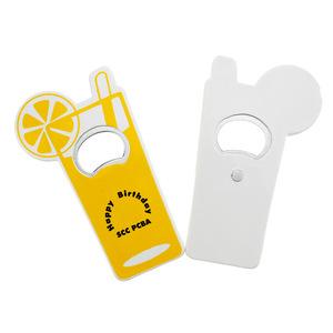 High Quality Beverage Cup Bottle Opener Fridge Magnet