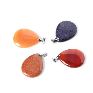 Wholesale Natural Crystal Angel Tears Pendants