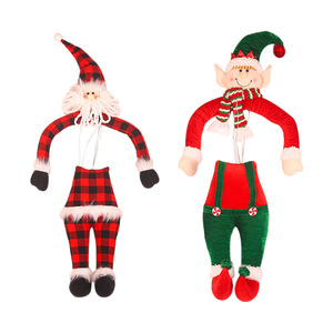 Novelty Christmas Tree Decoration Ornaments Gnome Santa Claus Doll