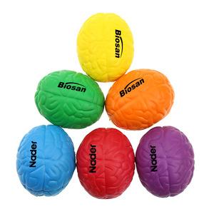Custom Logo Brain Shape Stress Ball