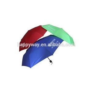 Deluxe Business 3 Fold Umbrella, MOQ 100 PCS 0606022 One Year Quality Warranty