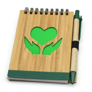 Attractive Heart Shape Wooden Pen Pal Notepad, MOQ 1000 PCS 0703049 One Year Quality Warranty
