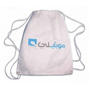 Promotional Custom Non-woven Fabric Drawstring Backpack Bag