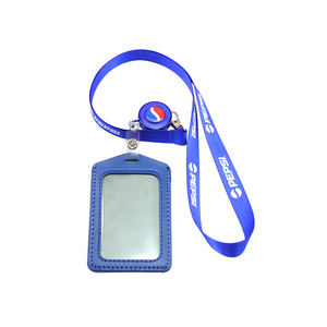 Promotional ID Card Holder With Lanyard