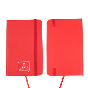 Eco Friendly Diary Book Dot Lined Notebook With Color PU Leather Cover