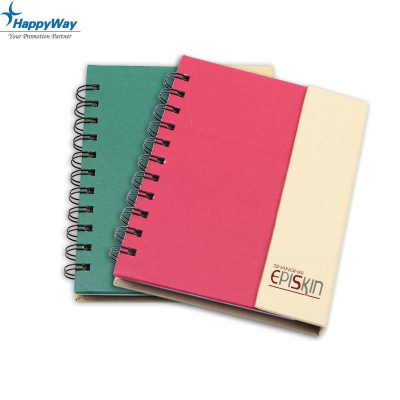 Popular Spiral Notebook With Stickers, MOQ 1000 PCS 0703038 One Year Quality Warranty