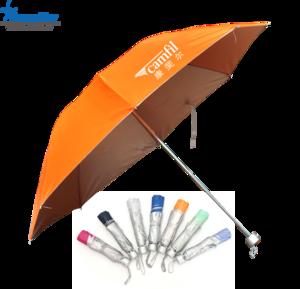 Promotion colorful 3 Fold Umbrella, MOQ 500 PCS 0606017 One Year Quality Warranty