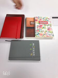 PU personalized hardcover notebook