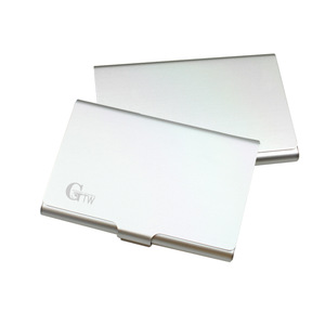 Advertising Personalized Aluminum Business Card Holder