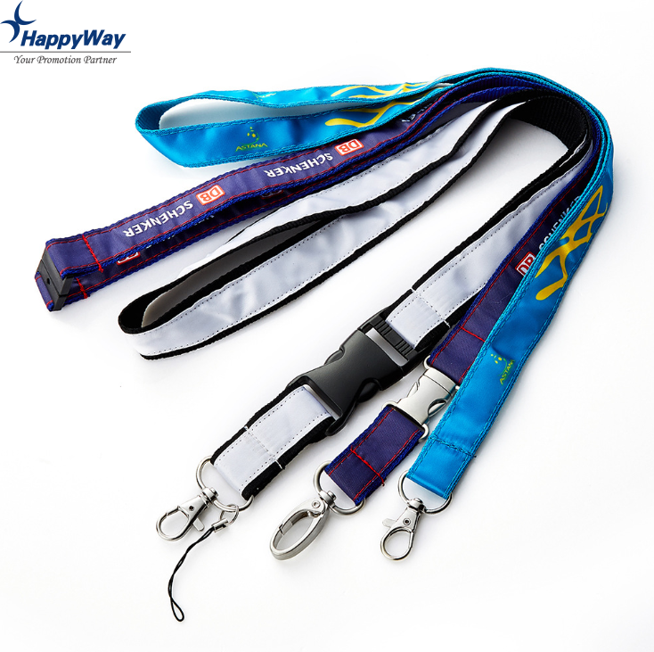 Custom Advertising Safety Lanyard