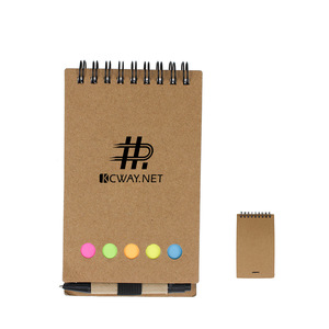 Advertising Kraft Notepad With Stycky Notes