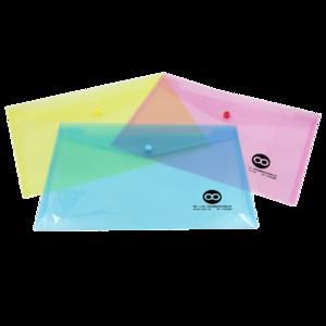 Colorful Transparent Plastic a4 File Folder