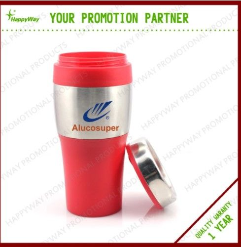 Novelty Customised Promotional Stainless Steel Auto Mug
