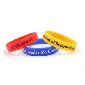Hot Selling Custom Rubber Bracelet, Silicon Wristband, Silicone Bracelet