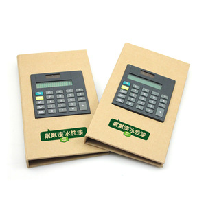 Novelty Customized Logo Sticky Notepad With Calculator