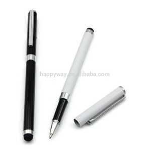 branded blue metal roller gel ink pen MOQ 100PCS 0207073 One Year Quality Warranty