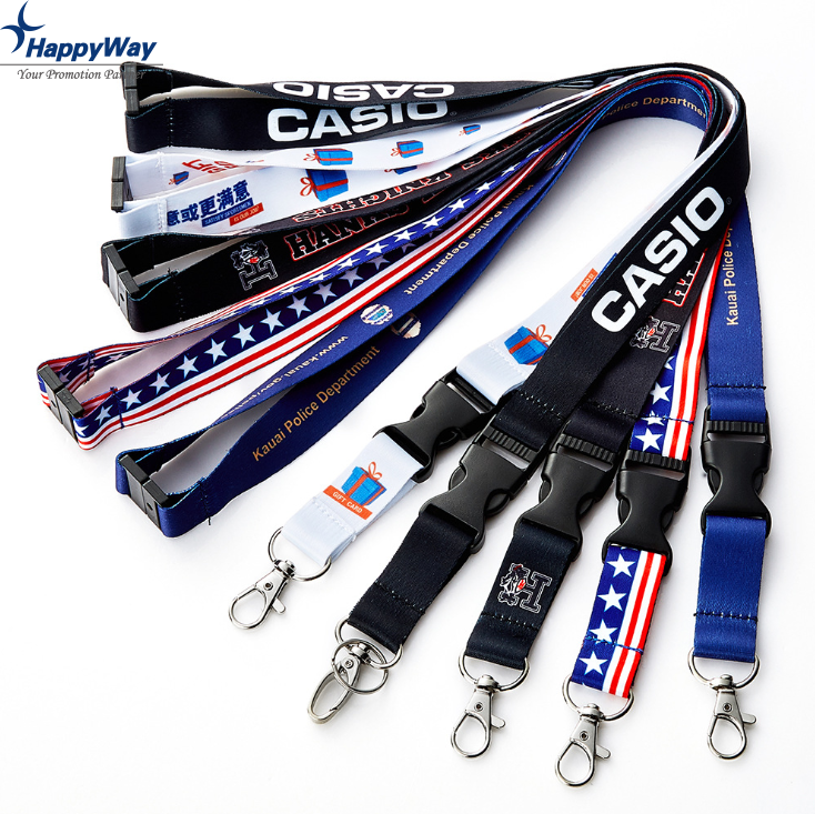 Custom Logo Safety Breakaway Lanyard
