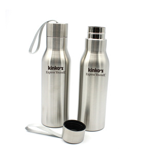 High Quality Elegant Sport Stainless Steel Sport Water Bottle 0301024 MOQ 1000PCS One Year Quality Warranty