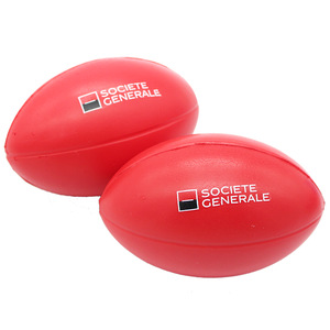 Advertising Rugby Stress Ball
