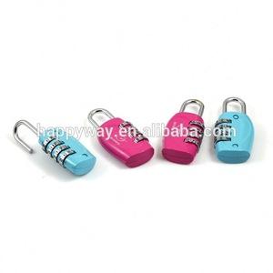 Wholesale Promotional Free Sample Combination Lock
