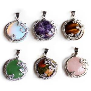 Novelty Crystal Ball Dragon Decoration Pendants
