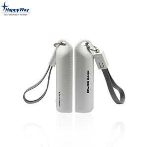 Novelty Promotional Small Keychain Phone Charger Power Bank