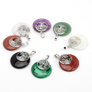 Wholesale Nature Pendant Crystal Necklace