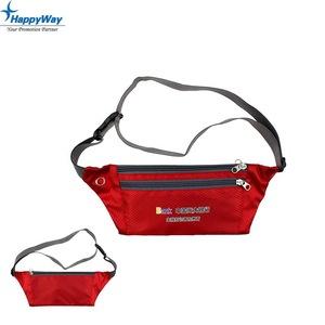 Cheap Custom Logo Nylon Sports Waist Bag