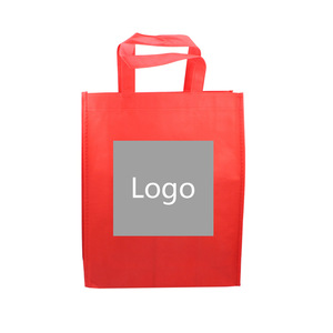 Customized Non Woven Fabric Shopping Bag with Logo MOQ1000PCS 0603001 One Year Quality Warranty
