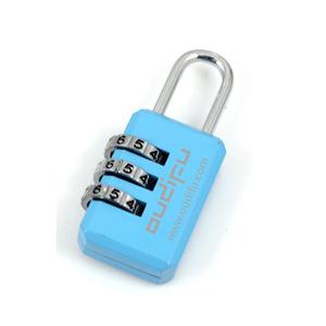 3 Digit Exquisite Luggage Lock With Custom Logo, MOQ 100 PCS 0907003 One Year Quality Warranty