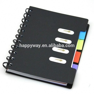 Colorful Spiral notepad,cute sticky notes MOQ100PCS 0703055