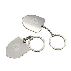 Custom Logo Shield Shape Bottle Opener Keychain