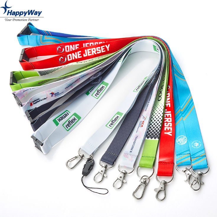 High Quality Branded Adjustable Neck Lanyard