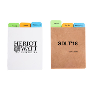 Customised Tear Off Notepad 0703122 MOQ 100PCS One Year Quality Warranty