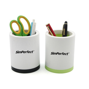 Promotional Round Pen Holder 0707065 MOQ 100PCS One Year Quality Warranty
