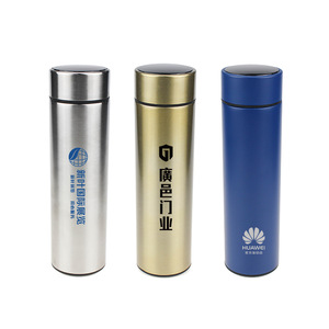 Smart Thermos Water Bottle Temperature Display