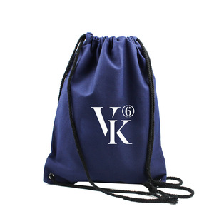 Advertising Wholesale Drawstring Canvas Backpack