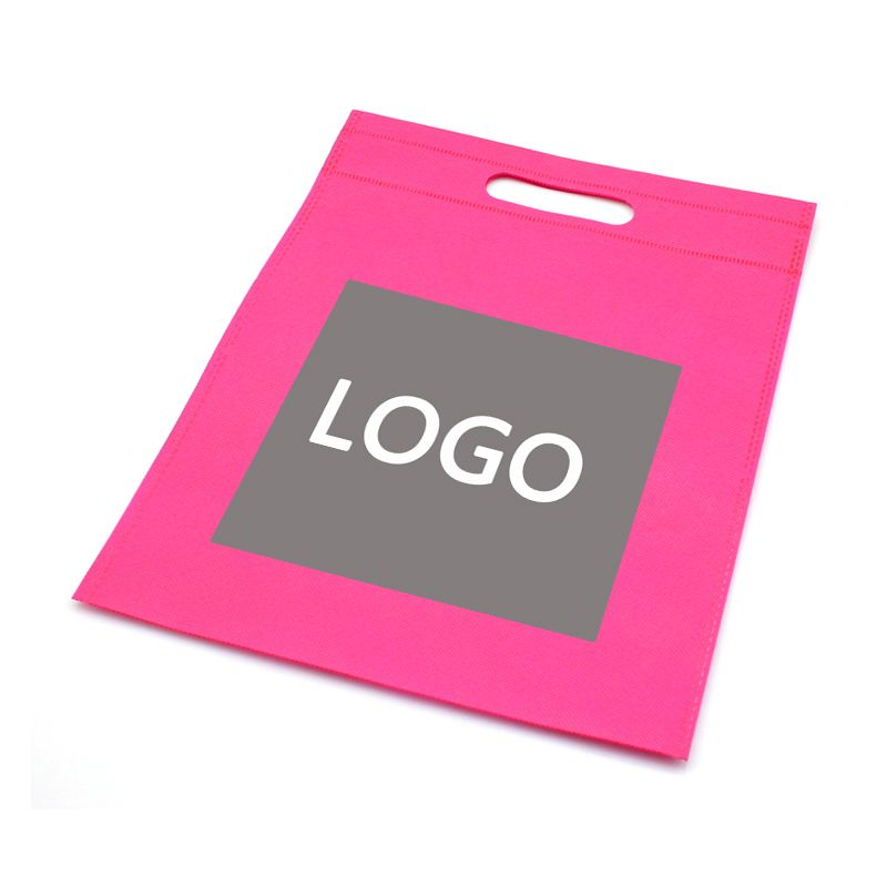 Promotional Non Woven Tote Bag Logo customized enterprise exhibition gift advertisement