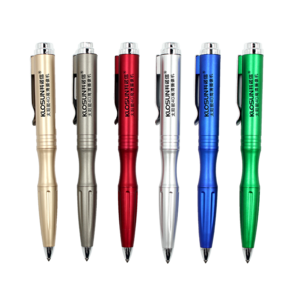Multi-function safety hammer LED lamp survival tactical pen light ballpoint Pen 0205065 MOQ 500PCS One Year Quality Warranty