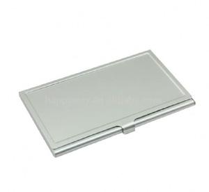 Aluminium bulk business card holder