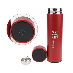 Stainless Steel Vacuum Flasks With Temperature Display