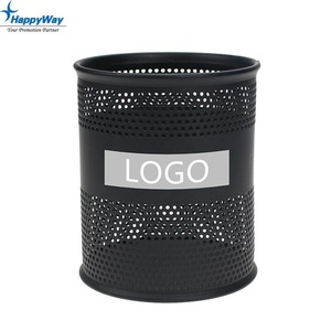 Office Metal Pen Holder 0707071 MOQ 100PCS One Year Quality Warranty