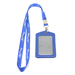 Hot Sale Promotion Staff Card with Hanging Lanyard