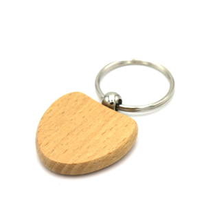 Popular Promotional Wooden Key Chain