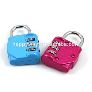Zinc Alloy Combination Lock for Promotion MOQ1000PCS 0907012 One Year Quality Warranty