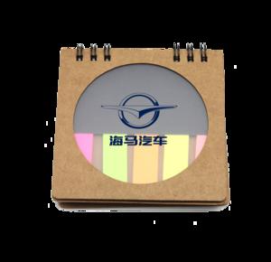 sticker notes , promotional sticky notes , MOQ100PCS 0703024